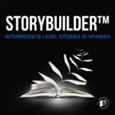 Storybuilder™ bundle: Interactive stories for Intermediate Spanish learners