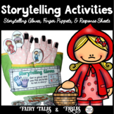 Storytelling: Finger Puppets, Interactive Storytelling Gloves, Fairy Tales