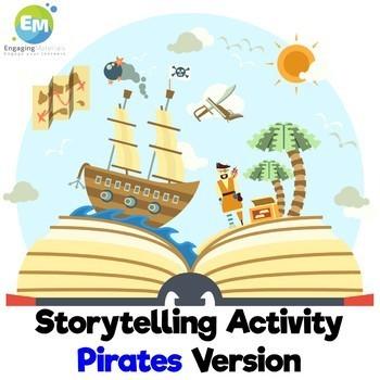 Storytelling Activity Pirates Version