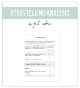 Storytelling Analysis Project Rubric