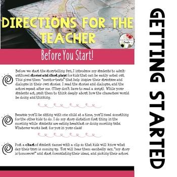 Storytelling Dictation Starter Pack