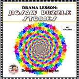 STORYTELLING USING JIG SAW PUZZLE PIECES