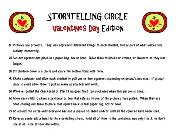 Storytelling Prompts (Valentines Edition)