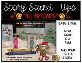 Storytelling Stand-ups {All Aboard} the Christmas Train: K