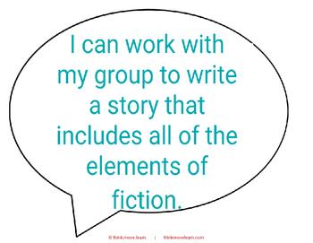 Elements of Fiction - Part 2 a.k.a.  Storytelling Stars