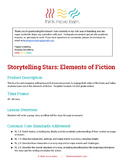 Elements of Fiction - Part 2 a.k.a.  Storytelling Stars