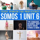 Spanish 1 Storytelling Unit 06: Siéntate