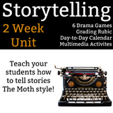 Storytelling Unit - 2 full weeks of activities, drama games, and more!