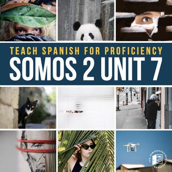 Spanish 2 Imperfect Irregular Verb unit: El acosador #SOMOS2
