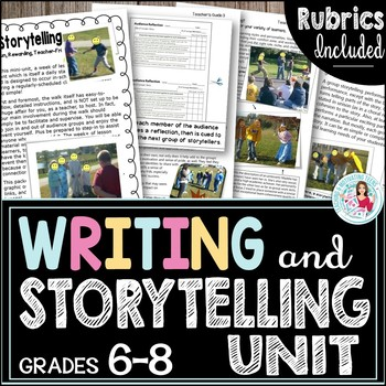 Storytelling Groups - Middle & High School ELA Student-Centered Fun Mini-Unit