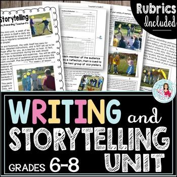 Storytelling Groups - Middle & High School ELA Student-Cen