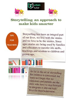 Storytelling, an approach to make kids smarter