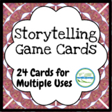 Storytelling and Story-building Activity Game Cards for Conversation or Writing