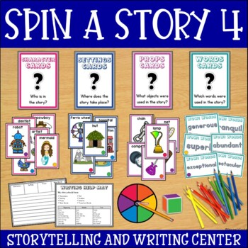Storytelling and Writing Center Set 4