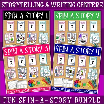 Storytelling and Writing Centers Bundle