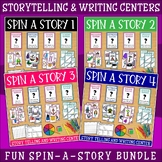 Story Starters Card Bundle | Writing Center | Writing a Story | Story Elements
