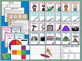 Story Starters Card Bundle   Writing Center   Writing a Story   Story Elements