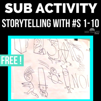 Substitute Activity: Storytelling with Numbers 1-10
