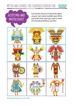 Storytime Aztec Pack