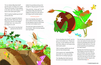 Storytime - Free Fairy Tale Plus Activties - Three Billy Goats Gruff