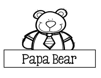 Storytime Headbands - Goldilocks And The Three Bears