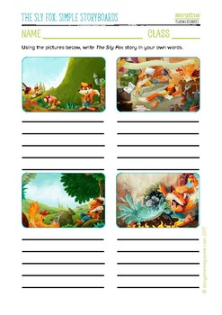 Storytime Sly Fox Pack