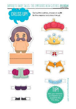 Storytime The Emperor's New Clothes Pack