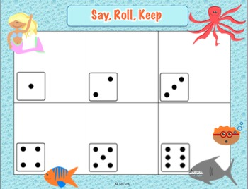 Storytown 1st Grade High Frequency Words Roll, Say, Keep Game