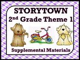 Storytown 2nd Grade Theme 1 Printables