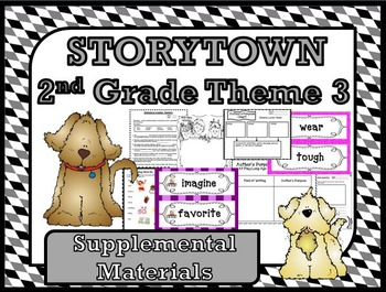 Storytown 2nd Grade Theme 3 Changing Times Resources