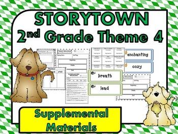 Storytown 2nd Grade Theme 4 Dream Big Resources