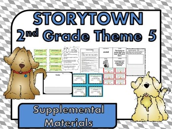 """Storytown 2nd Grade Theme 5 """"Better Together"""" Resources"""