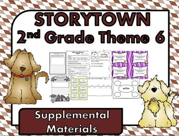 """Storytown 2nd Grade Theme 6 """"Seek and Find"""" Resources"""