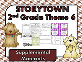 Storytown 2nd Grade Theme 6 ~ 2008 version Supplemental Resources