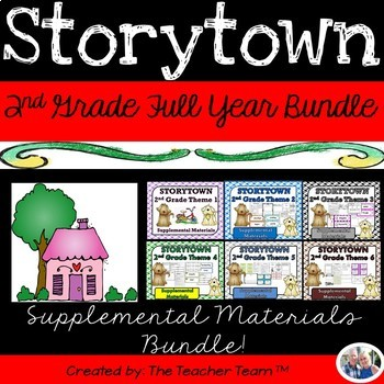Storytown 2nd Grade Theme 1-6 Full Year Resources