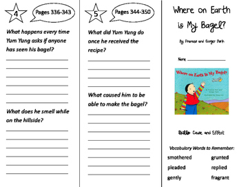 Storytown 2nd Grade Unit 6 Trifolds Bundle