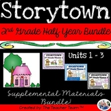 Storytown 2nd Grade Theme 1-2-3 Half Year Bundle Resources