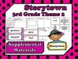 Storytown 3rd Grade Theme 2 ~ 2008 version Supplemental Resources