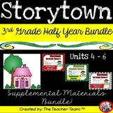 Storytown 3rd Grade Theme 4-5-6 Half Year Bundle Resources