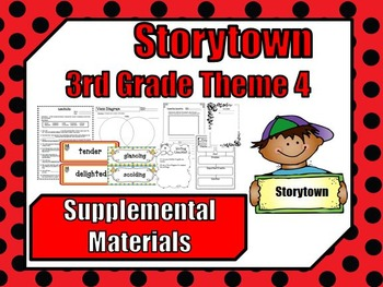 "Storytown 3rd Grade Theme 4 ""Together We Can"" Resources"