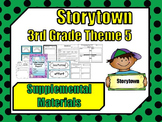"""Storytown 3rd Grade Theme 5 """"A Place For All"""" Resources"""