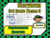 Storytown 3rd Grade Theme 5 ~ 2008 version Supplemental Resources