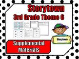Storytown 3rd Grade ~ Theme 6 Supplemental Resources