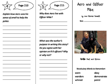 Storytown 3rd Grade Unit 2 Trifolds Bundle