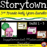 Storytown 3rd Grade Themes 1-2-3 ~ 2008 version Supplemental Resources Bundle
