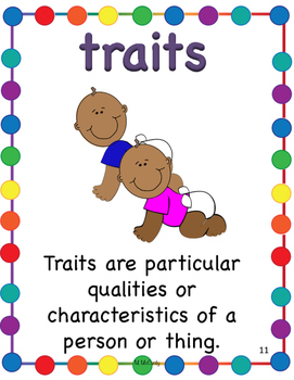 Storytown 4th Grade Robust Vocabulary Posters Theme 3