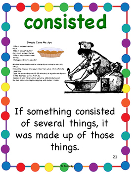 Storytown 4th Grade Robust Vocabulary Posters Theme 5