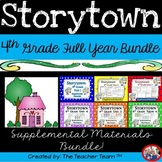 Storytown 4th Grade ~ Themes 1 - 6  Full Year Supplemental Resources Bundle