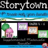Storytown 4th Grade Theme 4 - Theme 6 Printables Bundle