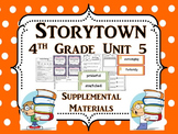 Storytown 4th Grade Theme 5 Printables